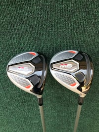 TaylorMade M6 Lightly Used Golf 3 and 5 Woods, Regular Flex Houston, 77064