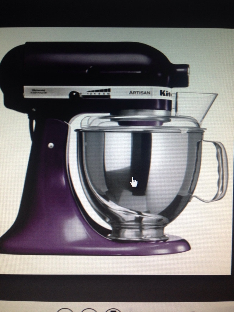 used purple kitchenaid stand mixer for sale letgo rh ph letgo com