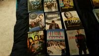 six assorted DVD movie cases Frederick, 21702