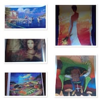 Graphic Artwork all 5 for only $55.00 514 km
