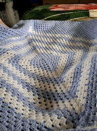 Baby boy crocheted baby blanket   Brantford, N3T 2P7