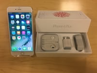 iPhone 6 Plus (Factory Unlocked) - Comes w/ Box & Accessories + 1 Month Warranty Springfield, 22150
