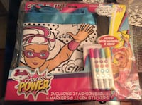 Barbie in princess power Girls Hand Bag with Styling Accessories Brampton, L7A 3M2