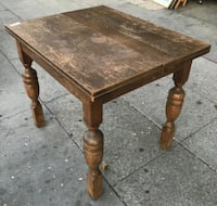 "#22116 44"" Square Coffee Table *repair required 2399 mi"