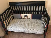Baby's black wooden crib/bed Bethlehem, 18018