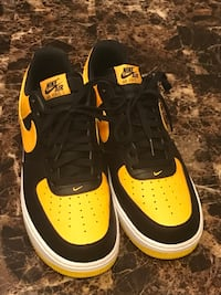Black/Yellow Air Force 1 (10.5) Hanover, 21076