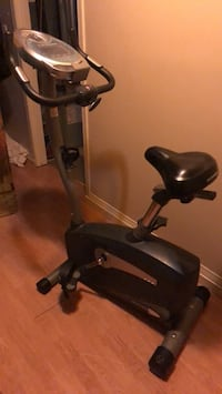 Black and gray stationary bike Edmonton, T5C 2V7