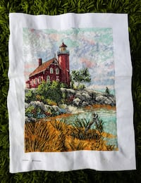 Cross stitch lighthouse Washington, 20003