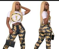 ladies YSL two piece outfit fitted Chicago