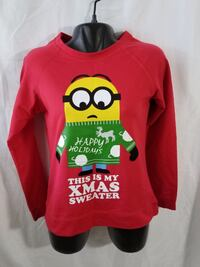 Despicable Me Minion Women Sweater red size large Avondale