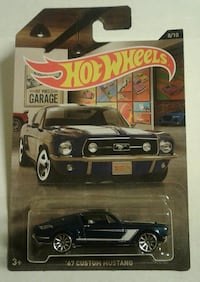 Hot Wheels Garage '67 Custom Mustang Oklahoma City