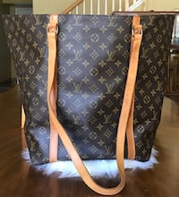 brown Louis Vuitton leather tote bag Spring Valley, 91978