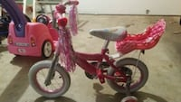 toddler's pink and white bicycle with training whe Vienna, 22181