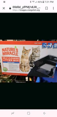 Natures miracle self cleaning litter box Monrovia, 21770