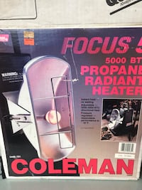 Coleman heater like new Orchard Hills, 21742
