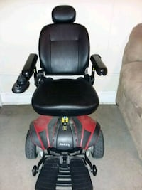 black and red motorized wheelchair Baltimore, 21215
