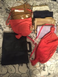Assorted new leather and suede purses and bags  Sudbury, P3C 4G6