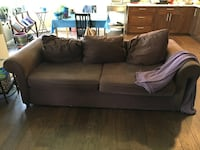 Free Brown couch Calgary, T3A 5P7
