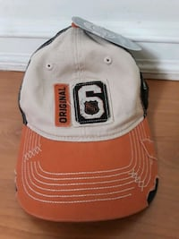 Original 6 NHL fitted hat Newburyport, 01950