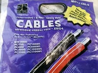 2 packs of heavy-duty copper cables Surrey, V3S