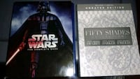 bluray SW the complete saga & 50 shades collection Las Cruces, 88005