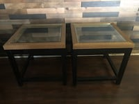 SET OF TWO WOODEN END TABLES FROM PIER1 Selma, 93662