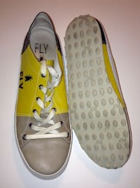 Fly London Mens Leather Trainers Size 12 London