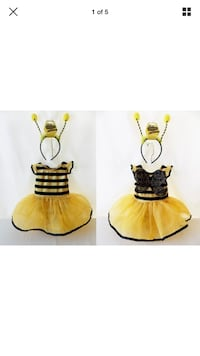 Bumble bee costume 12-18 months never used Gaithersburg, 20878