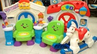 (42B) Infant toys Fiisher Price/Vtech Toronto
