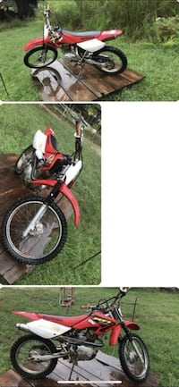 2006 Honda crf100 bored to 125 nothing wrong with this bike it cranks on first try Plaquemine, 70764