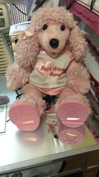 pink and white bear plush toy Chicago, 60629