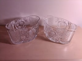 Imperial Crystal Bowls/Planters