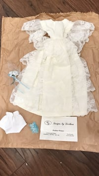Hand crafted wedding dress for barbie Barrie, L4N 9X2