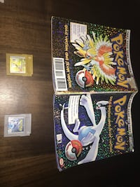 Pokémon Gold & Silver with New Save Batteries and Strategy Guide! Toronto, M9A 0B7