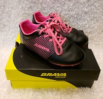 Cleats Soccer Child Size 12