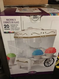 Snow cone maker. Never been used $20 Phoenix, 85044