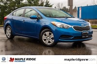 2014 Kia Forte LX MANUAL, NO ACCIDENTS, GREAT FUEL ECONOMY, LOCAL