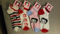 Betty Boop Socks Washington Township, 08012