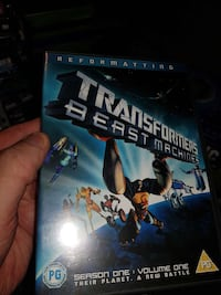 Transformers Beast Machines dvd 6250 km