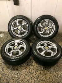 4 16 in 5x110 5x114.3 wheels rims tires Montgomery Village, 20886