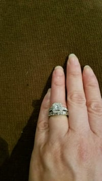 White Gold and Diamond Rings