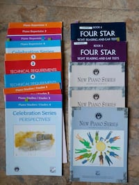 piano books in excellent condition. selling as a lot, make me an offer Dorchester, N0L 1G3
