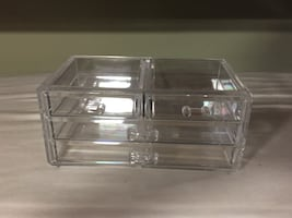 Clear glass case