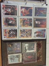 90's NBA Card Collection. MJ, Kobe rookies, etc. LJ and Zo autographs Charlotte, 28105