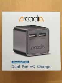 Gray arcadia dual port ac charger Tampa, 33625