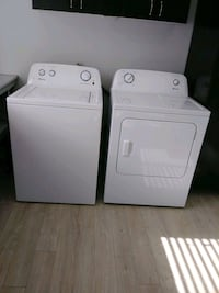 white washer and dryer set 817 km