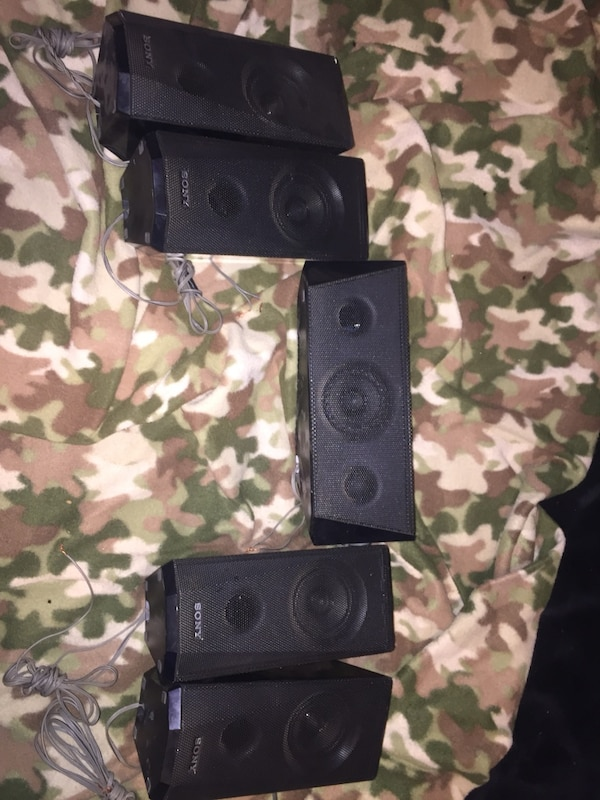 Sony surround system and LG sub