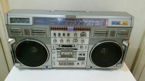Used Conion C100f Boombox Vintage 80s For Sale In Brooklyn