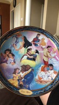"""Limited edition """"Ever After"""" Disney collectible plate Oakville, L6M 4Y9"""