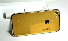 gold-colored iPhone 6 case